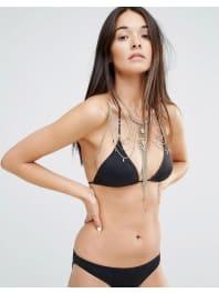 New LookPremium Body Chain - Black