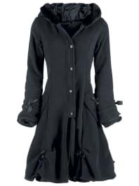 Poizen IndustriesAlice Coat Girl-Mantel schwarz