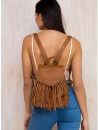 Princess PollyWomens Tan Hendrix Vegan Leather Backpack Tan One Size
