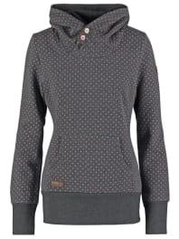 RagwearCHELSEA Jersey con capucha grey melange