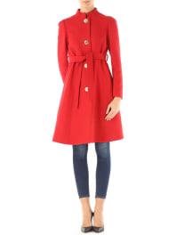 Tara JarmonWomens Coat On Sale, Red, Wool, 2016, XXS (IT 36) UK 6 - US 4 - EU 38