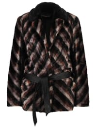 Urban CodeManteau court mink