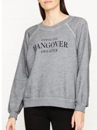 WildfoxOfficially Hungover Sweatshirt - Grey, Size Xs