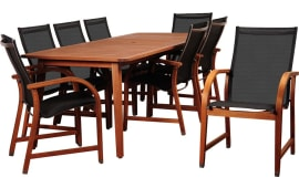 International Home InteriorsAmazonia Bahamas Rectangular Dining Set (9 PC) Part 68