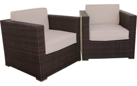 International Home InteriorsAtlantic Bellagio Armchairs With Cushions (Set  Of 2) Part 35