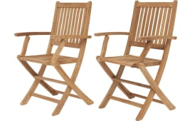 International Home InteriorsLondon Folding Armchairs (Set Of 2) Part 66