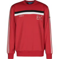adidas pull rouge product adidas 83 c crew sweater rot weiss ... a1a79c202b