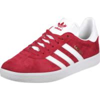 Adidas Superstar Dunkelrot Weiß