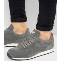 armani jeans baskets montantes gris