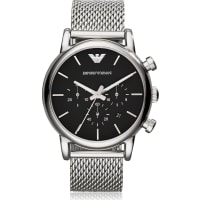emporio armani watches for men browse 142 products stylight voucher emporio armanistainless steel black dial mens watch w mesh band