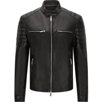Hugo boss leather jackets 62 products stylight for Hugo boss mercedes benz jacket