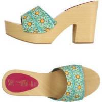 erika rocchi sandales à plateforme majolica