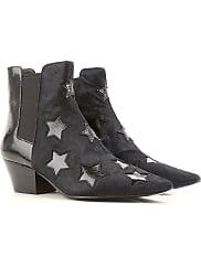 Zapatos de Mujer Baratos en Rebajas, Negro, Piel, 2017, 36 37 38 39 40 Ash