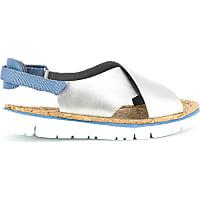 camper sandalias camper plata k