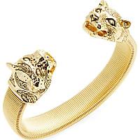 Kenneth Jay Lane Double Leopard Cuff Bracelet