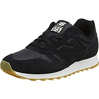 Black New Balance 373 trainers available on Amazon