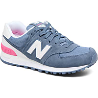 New Balance 574 Bleu Orange