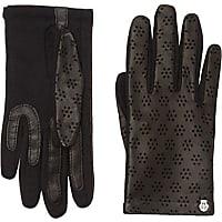 roeckl handschuhe in schwarz bis zu 18 stylight. Black Bedroom Furniture Sets. Home Design Ideas
