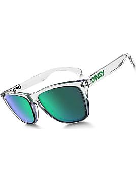 Oakley Targetline Prizm Sonnenbrille (jadegrün, polarisierende Gläser) - Sonnenbrillen - Freizeit Matte Black One Size