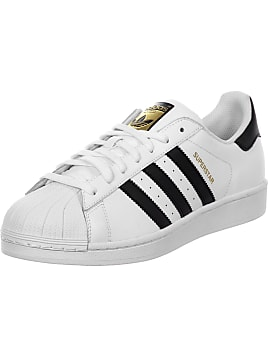 adidas Originals Superstar W Core Black/Black/Off White, Schuhe, Sneaker & Sportschuhe, Flache Sneaker, Schwarz, Female, 36