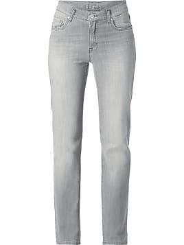 Slim-Fit-Jeans mit hohem Bund, mit Perlen- und Blitz-Dekor Sandro