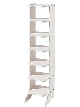 schuhregale in wei 37 produkte sale bis zu 32. Black Bedroom Furniture Sets. Home Design Ideas