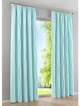 gardinen in blau 1185 produkte sale bis zu 27 stylight. Black Bedroom Furniture Sets. Home Design Ideas