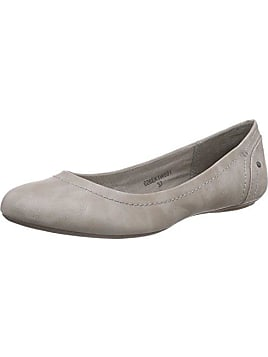 Gabor Shoes Damen Casual Geschlossene Ballerinas, Grau (Stone), 41 EU