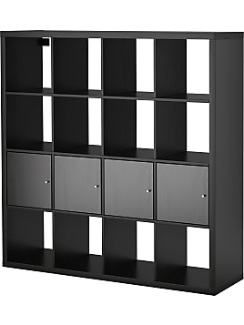 regale in schwarz jetzt bis zu 24 stylight. Black Bedroom Furniture Sets. Home Design Ideas