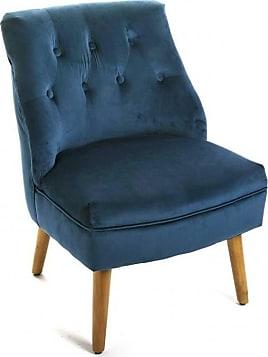 fauteuils en bleu 366 produits jusqu 39 50 stylight. Black Bedroom Furniture Sets. Home Design Ideas