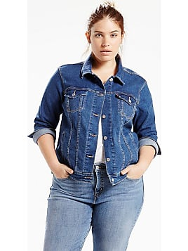 Damen jeans jacke levis