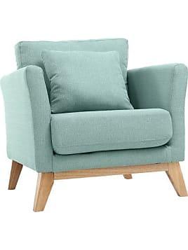 product miliboo fauteuil scandinave bleu lagon pieds bois clair oslo 133155304 Résultat Supérieur 49 Luxe Petit Fauteuil Bleu Image 2017 Kse4