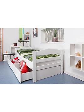 Einzelbett / Funktionsbett Easy Sleep K1/n/s Inkl 2 Schubladen Und 2  Abdeckblenden