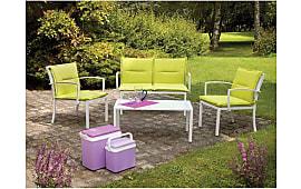 Stunning Salon De Jardin Coussin Vert Anis Photos - Awesome ...