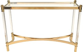 new pacific direct fresca acrylic console table glass top