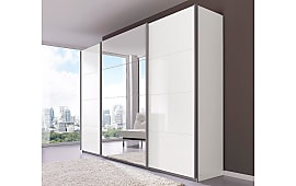 Kleiderschrank weiß hochglanz mit spiegel  Kleiderschränke: 2365 Produkte - Sale: bis zu −50% | Stylight