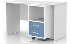 schreibtische in wei jetzt bis zu 48 stylight. Black Bedroom Furniture Sets. Home Design Ideas