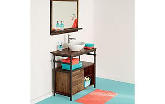 miroirs industriel de plus de 6 marques d s 27 99 stylight. Black Bedroom Furniture Sets. Home Design Ideas