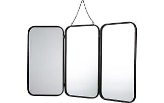 product alinea todd miroir de barbier avec cadre en metal noir 93x109 5cm 93877030 Résultat Supérieur 16 Nouveau Miroir Barbier Photos 2017 Ksh4