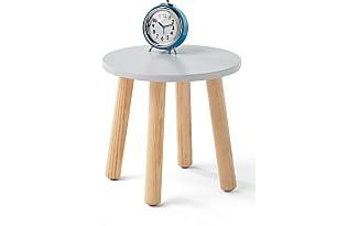 alina table de chevet grise bleute pitement - Table De Nuit Alinea