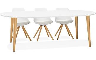 Tables pour salle manger 1156 produits jusqu 39 50 for Table ronde extensible style scandinave