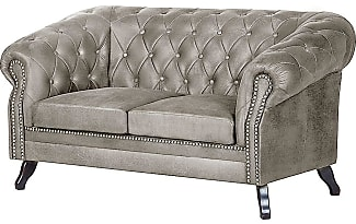 sofas in silber jetzt ab 299 99 stylight. Black Bedroom Furniture Sets. Home Design Ideas