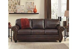 Ashley Furniture Bristan Sofa By Ashley HomeStore, Walnut Leather