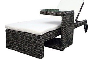 gartenliegen in grau jetzt ab 32 00 stylight. Black Bedroom Furniture Sets. Home Design Ideas