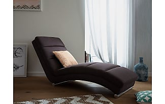 Beliani Sofa Braun   Couch   Relaxsessel   Recamiere   Liegestuhl    Relaxliege   LUNULA