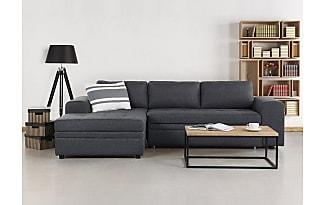 Ledersofa dunkelgrau  Big Sofas in Grau: 112 Produkte - Sale: bis zu −50%   Stylight