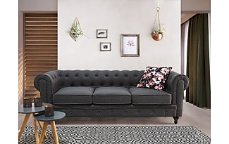 Chesterfield ecksofa stoff grau  Chesterfield Sofas: 72 Items − Sale: up to −56% | Stylight