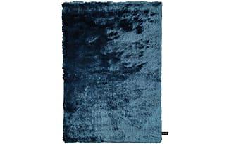 Hochflor teppich wellen muster shaggy türkis langflor
