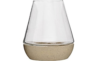 Bloomingville Glass Lantern With Sand Base, Medium