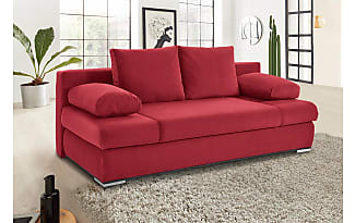 Amazing Gallery Of Collection Ab Collection Ab Schlafsofa Inklusive  Bettkasten Und Keder Rot With Eck Schlafcouch Mit Bettkasten With Luxus  Microfaser
